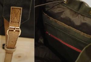 Bowoo Urban Hiker Backpack detail - LumberJac