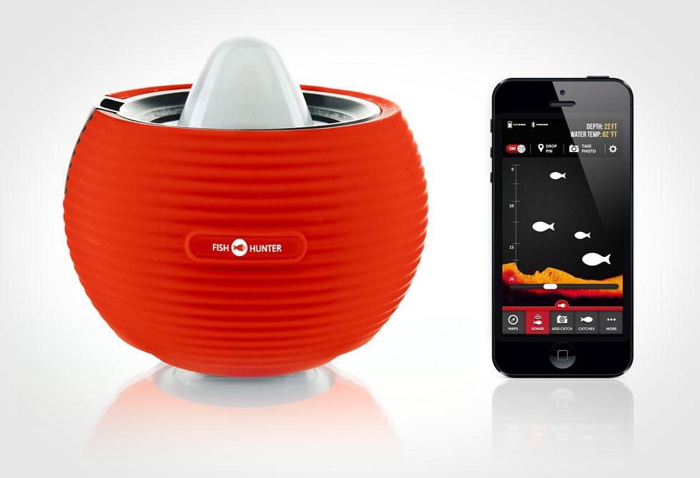 Portable Smartphone Fishfinder Sonar - LumberJac