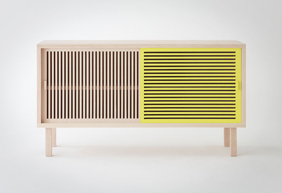 Yellow Kyoto Sideboard by Colonel - LumberJac