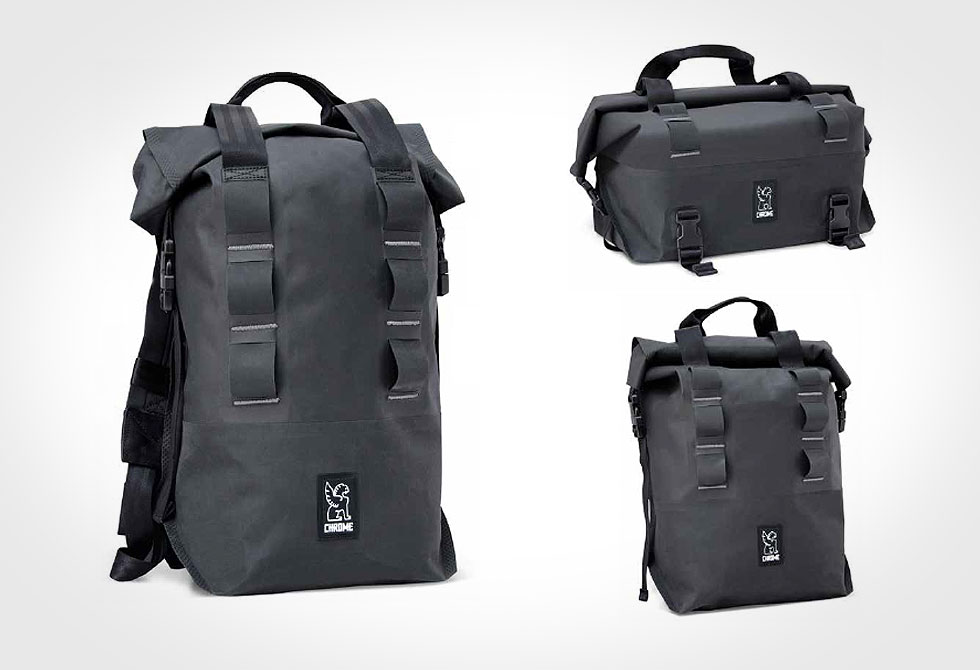 Knurled Welded Rolltop Bags by Chrome - LumberJac