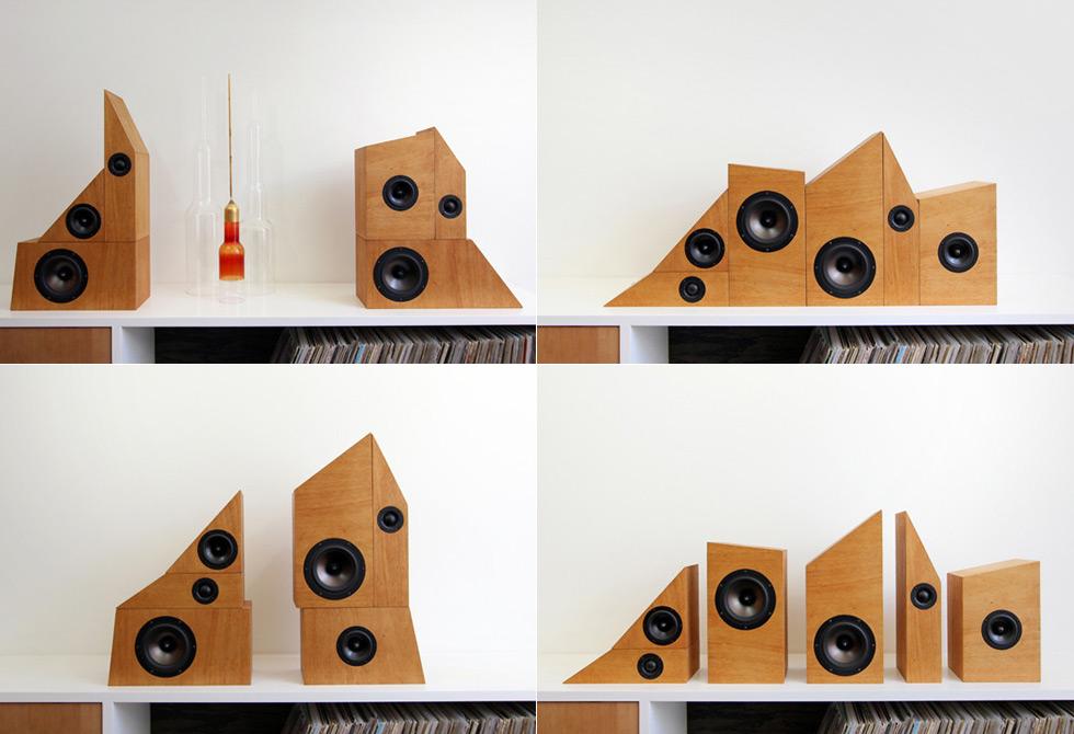 Wow Flutter Speaker System - LumberJac