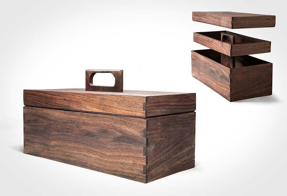Abner Wooden Tool Box 2 - LumberJac