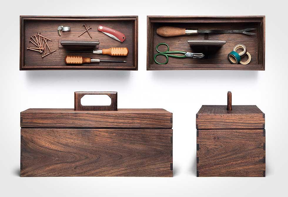 Abner Wooden Tool Box 3 - LumberJac