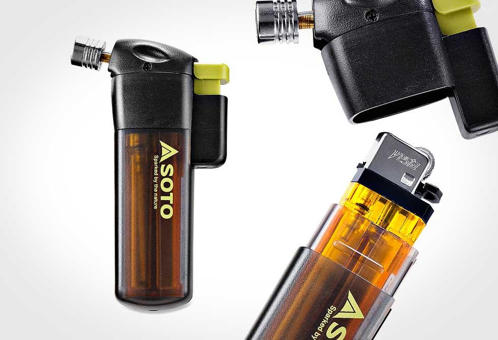 Soto Pocket Torch - LumberJac