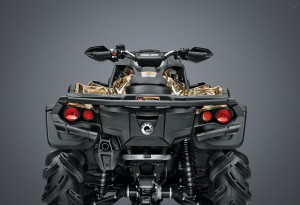 CAN-AM Outlander 1000x back - LumberJac