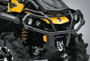 CAN-AM Outlander 1000x front - LumberJac
