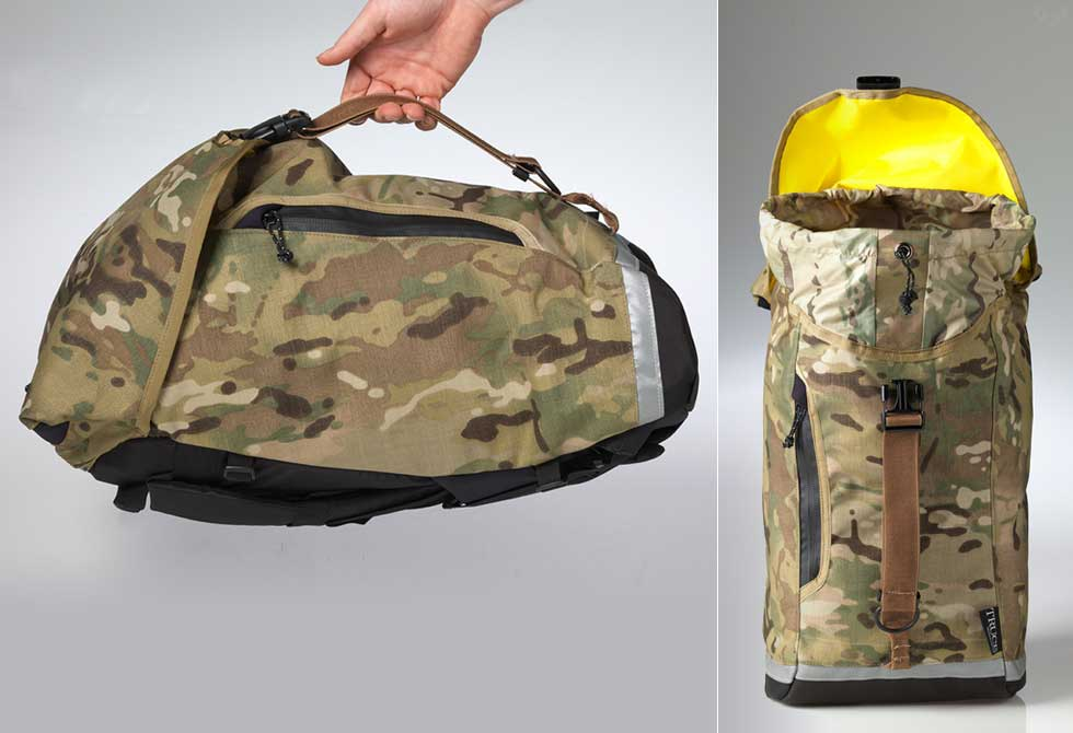 Camo Drop Liner Backpack - LumberJac