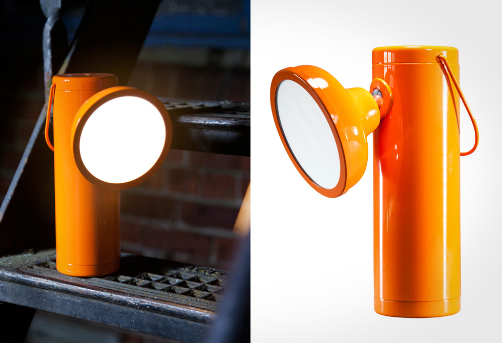 M Lamp Orange - LumberJac