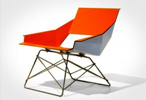 <b>Markamoderna HSLM-F Fiberglass Lounge Chair</b>