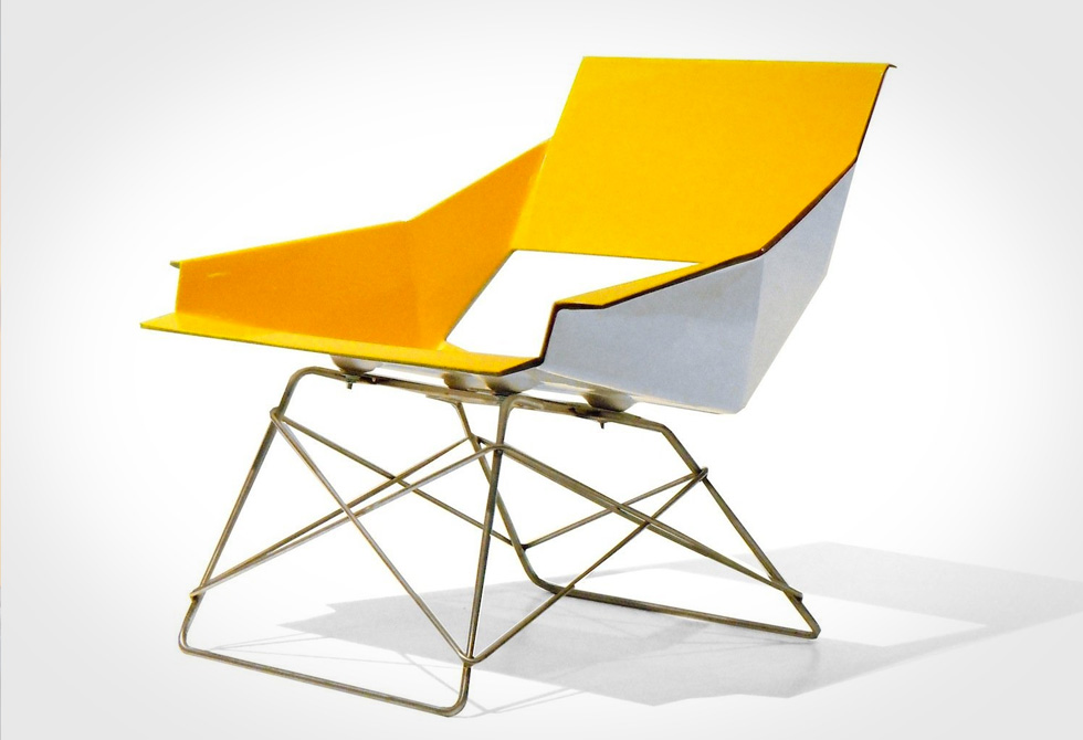 Markamoderna HSLM-F Lounge Chair Yellow - LumberJac