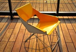 Markamoderna HSLM-F Lounge Chair Yellow - LumberJac