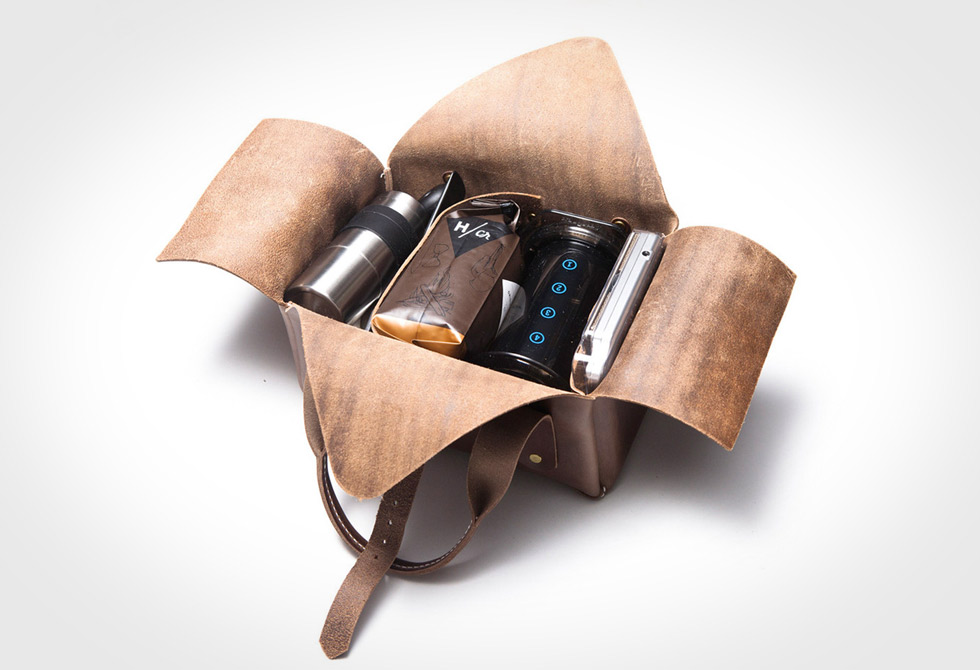 3Sixteen X HCR Travel Coffee Kit Interior - LumberJac