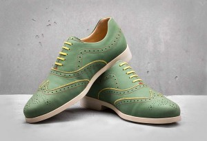 Weber-Schuh-Brogue-Nubuck-Shoes_green - LumberJac