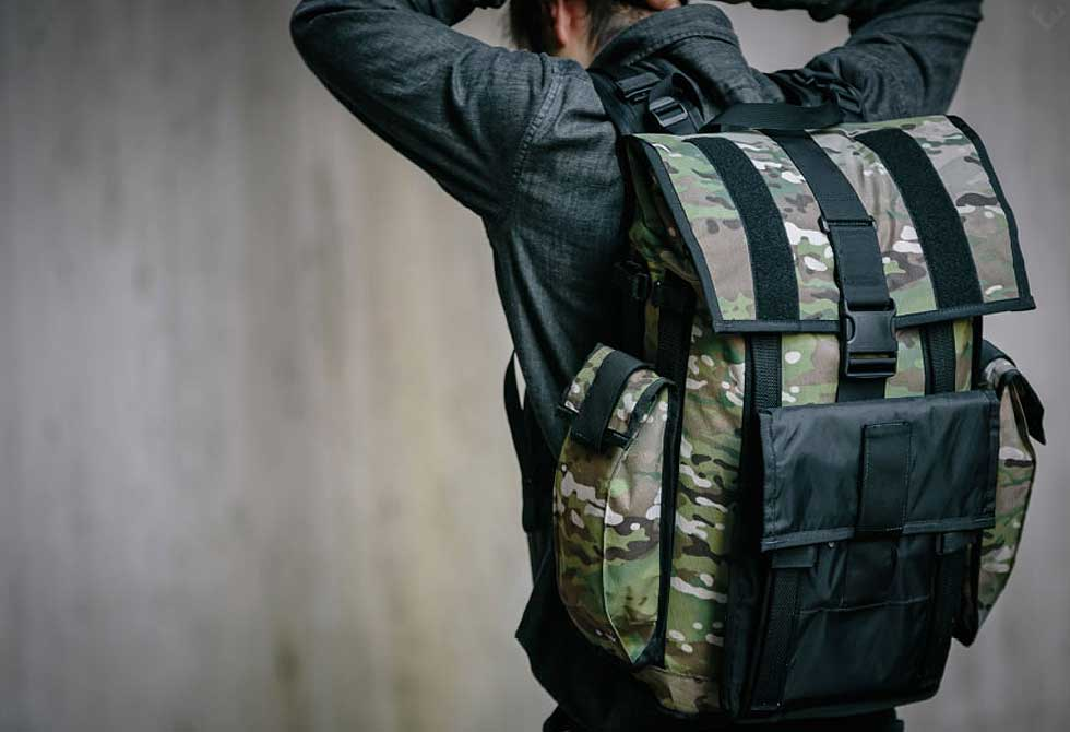 Mission Workshop's Arkiv VX-21 Backpack System - LumberJac