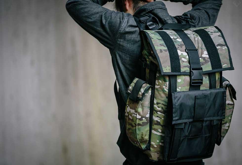 Mission Workshop's Arkiv VX-21 Backpack System - LumberJac