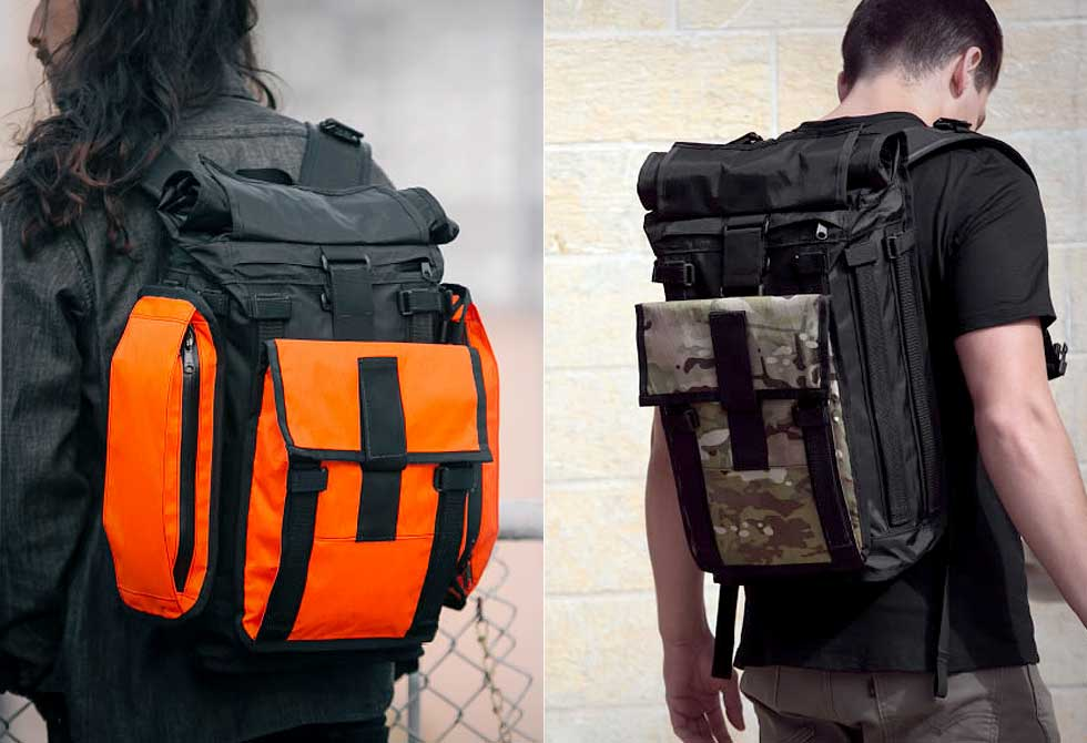 Mission Workshop's Arkiv VX-21 Backpack System 2 - LumberJac
