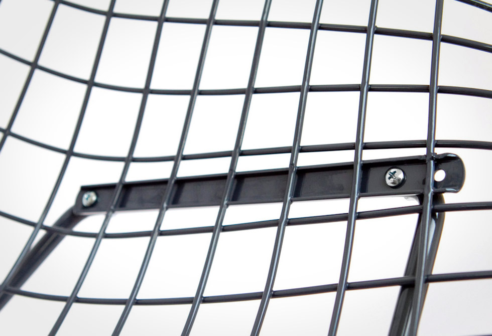 Bertoia Diamond Chair Detail - LumberJac