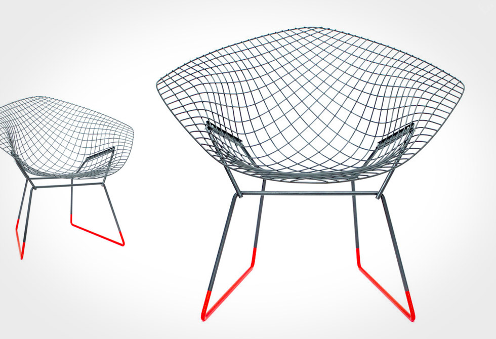 Bertoia Diamond Chair - LumberJac