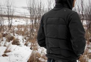 Canada Goose Hybridge Hoody back - LumberJac