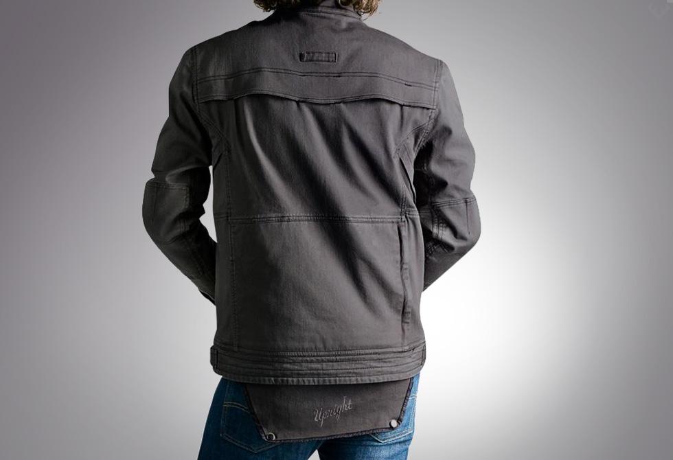 Jackson Jacket Back - LumberJac