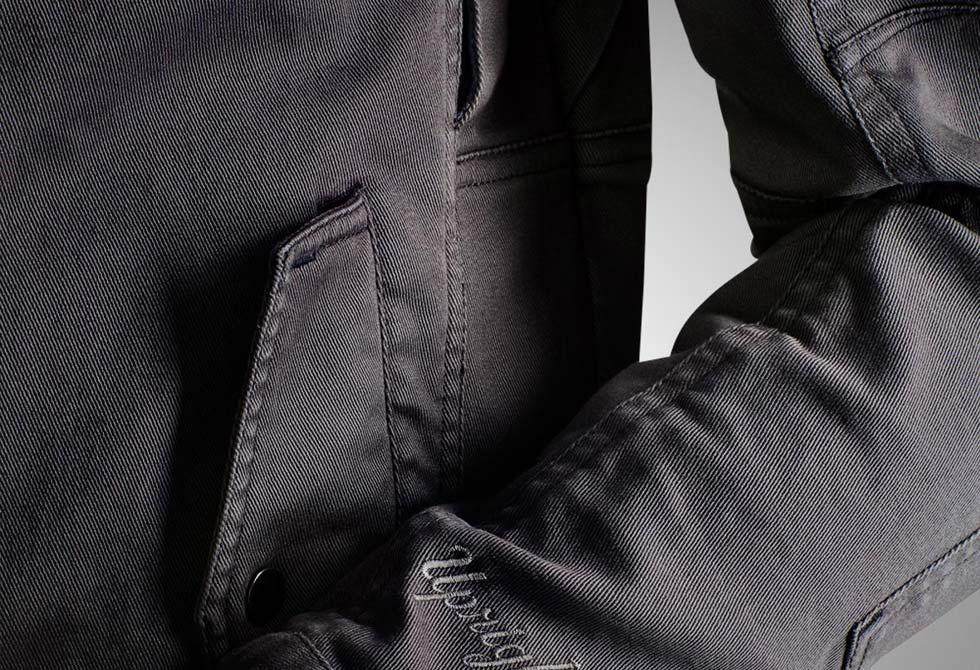 Jackson Jacket Detail - LumberJac