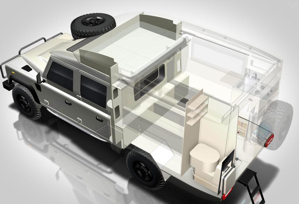 Land Rover Sherazee - LumberJac