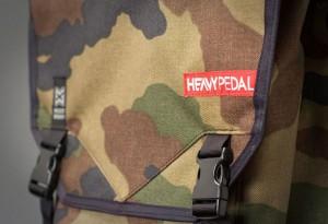 Mixed Works x Heavy Pedal Eagle Back Pack - LumberJac