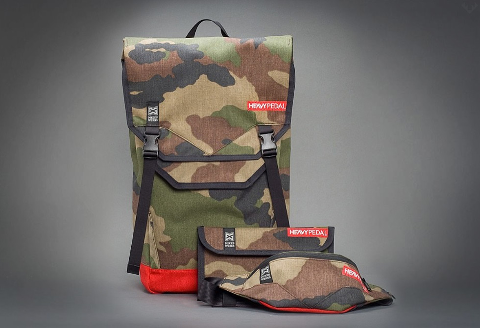 Mixed Works x Heavy Pedal Eagle Back Pack  Series- LumberJac