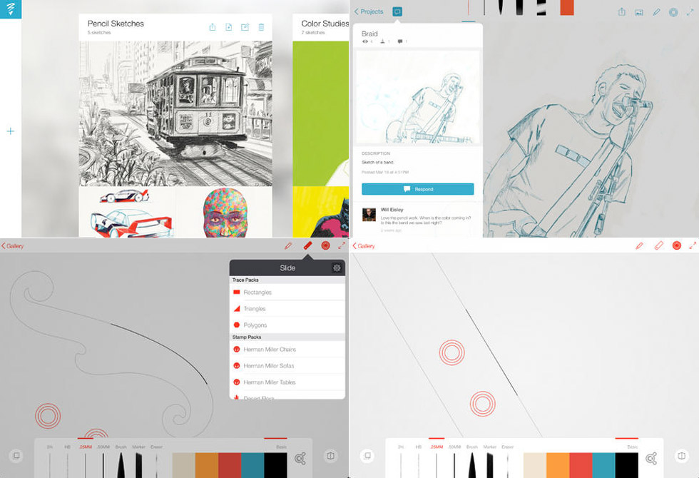Adobe Line & Sketch - LumberJac