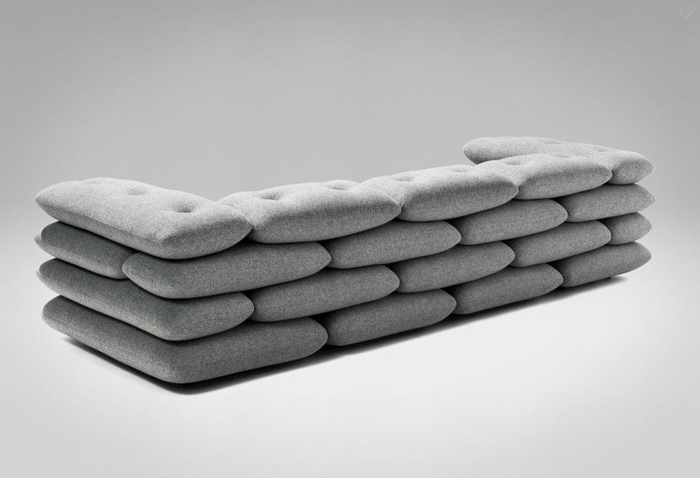 Brick Sofa by kibisi back - LumberJac