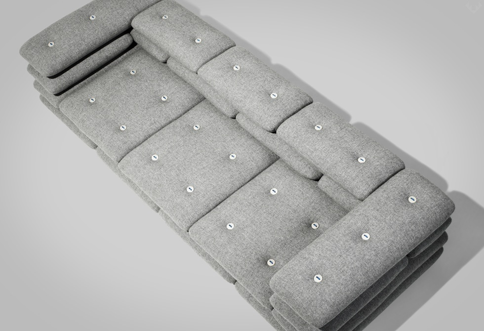 Brick Sofa by kibisi top - LumberJac