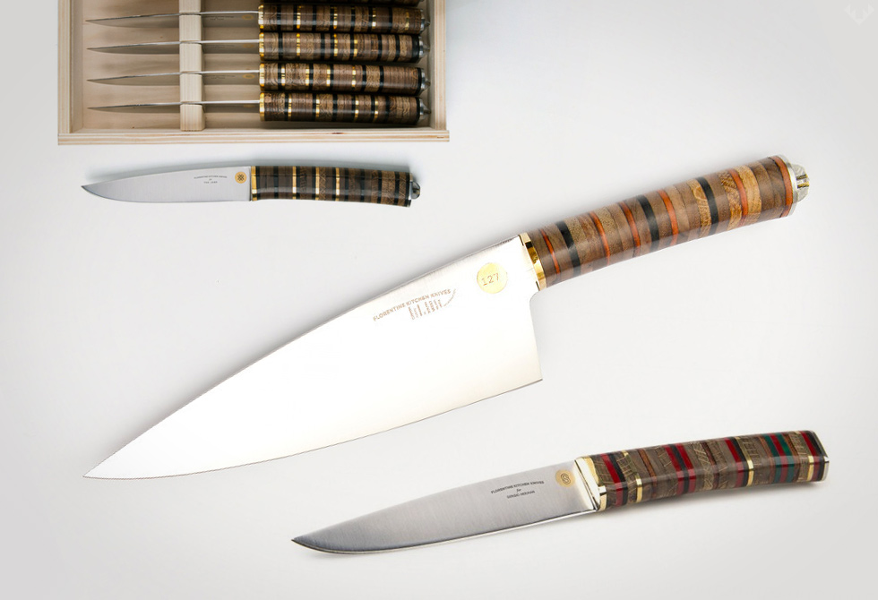 Florentine Kitchen Knives - LumberJac