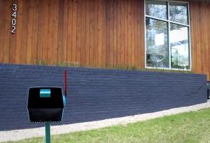 Modbox Mid-Century Mailbox 4 - LumberJac