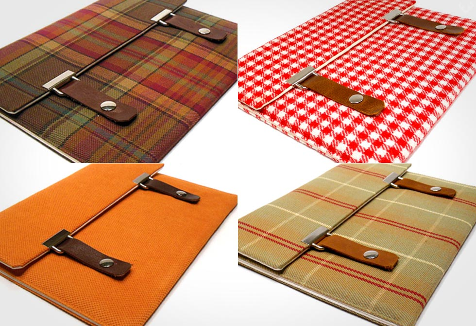 Moose and Pine iPad Case Colors - LumberJac