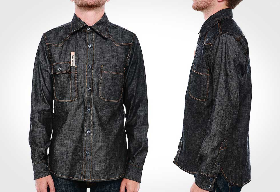 Tellason-Topper-Denim-Shirt-1 - LumberJac