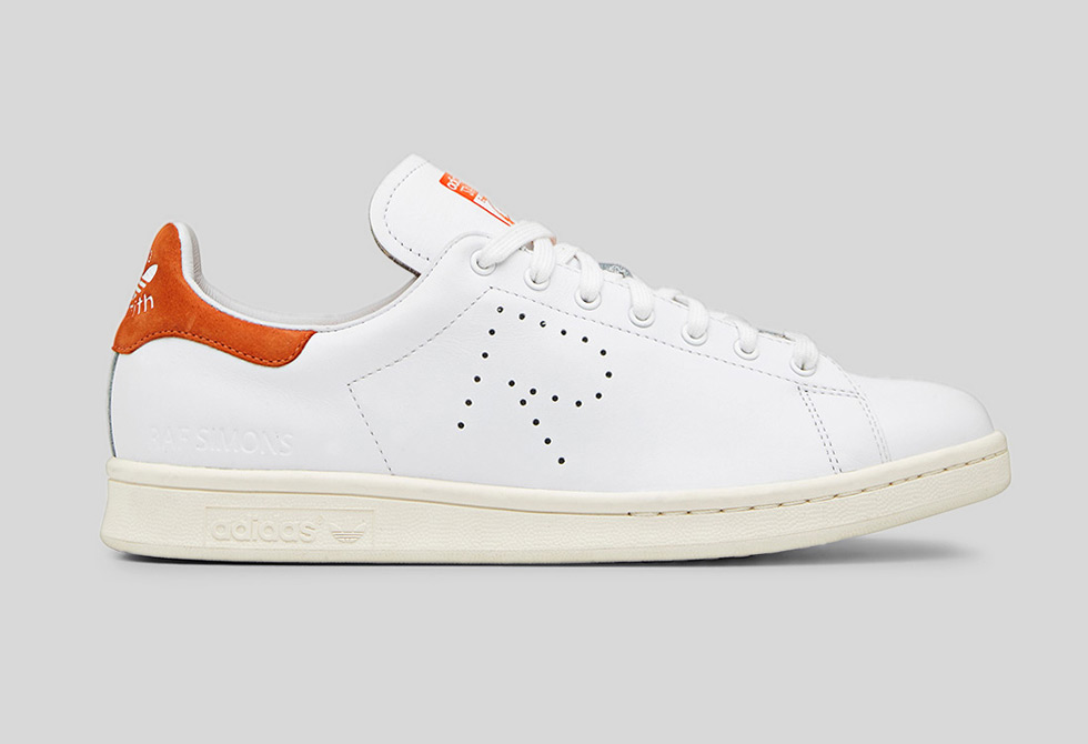 Adidas x RAF Simons Stan Smith White-Orange - LumberJac