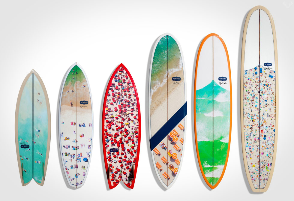 Gray Malin Surfboard Collaboration all - LumberJac