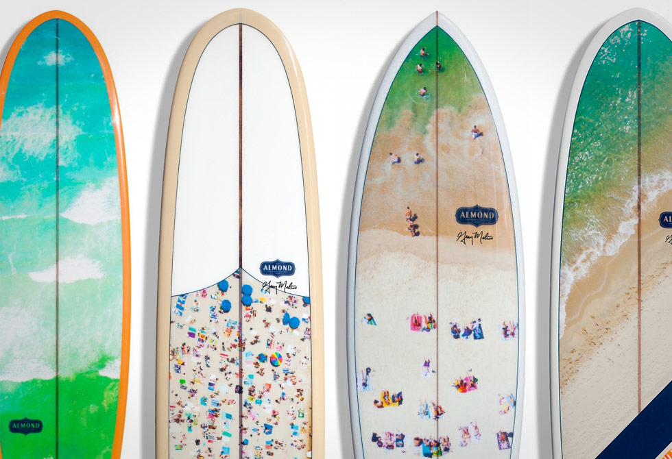 Gray Malin Surfboard Collaboration - LumberJac