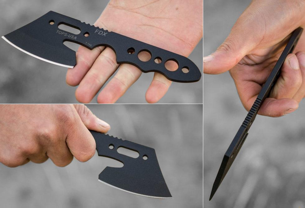 Tops FDX Mini Axe Size - LumberJac