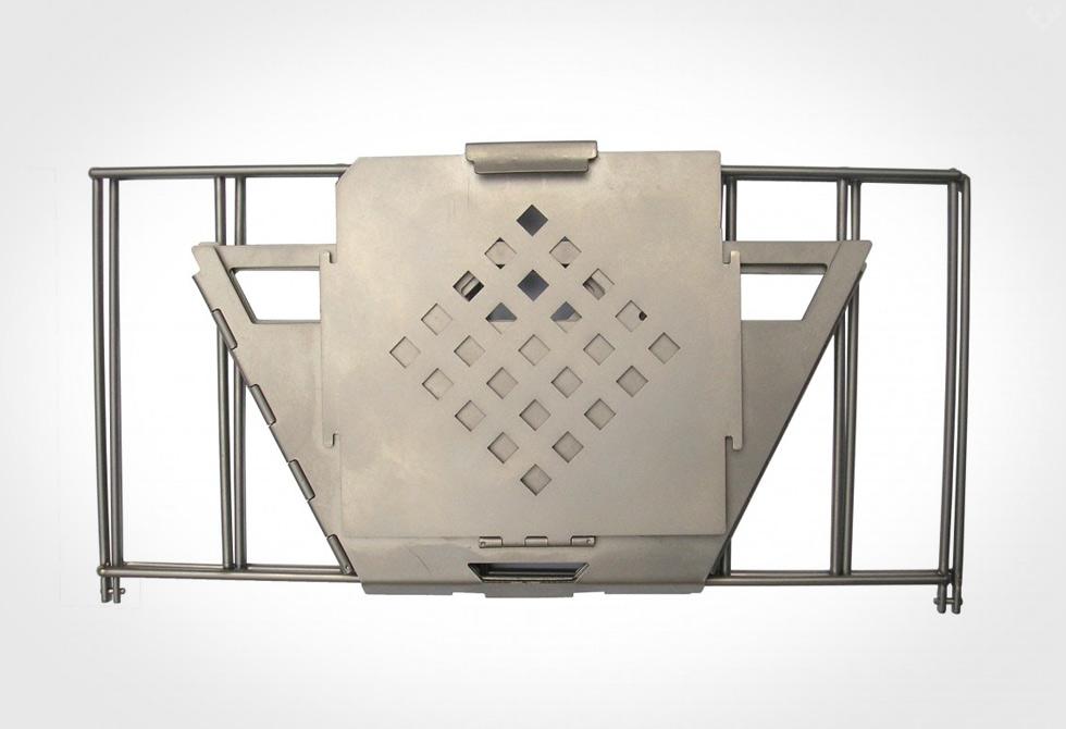 Vargo Titanium Fire Box Grill - LumberJac