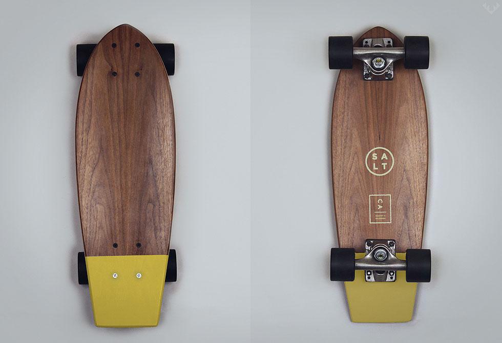Salt-Mustard-skateboard - LumberJac