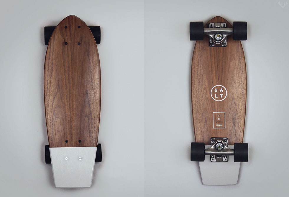 Salt-White-skateboard - LumberJac