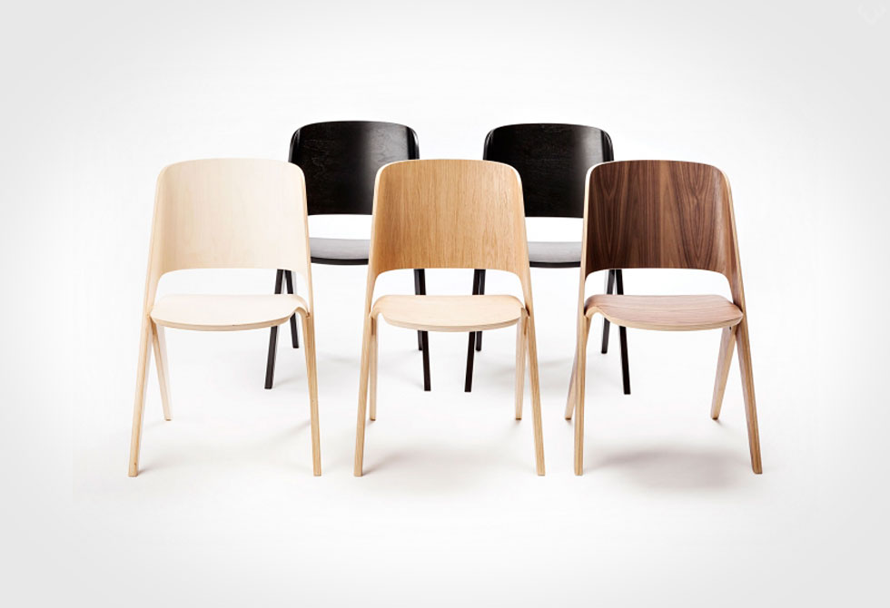 Lavitta Molded Plywood Chair 4 LumberJac