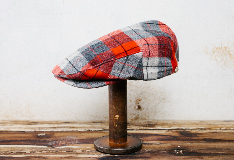 Brixton-Restitched-Barrel-Snap-Cap-LumberJac