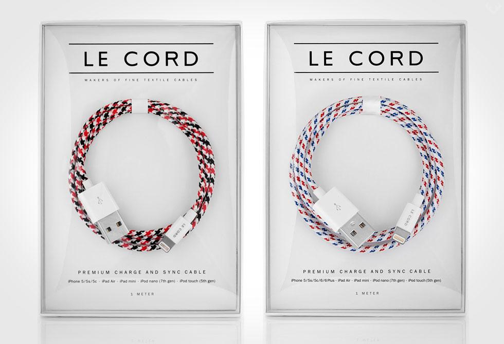 Le Cord Textile Cables