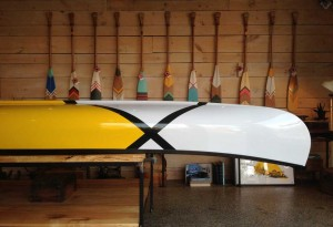 abitibi and Norquay Co. Canoe