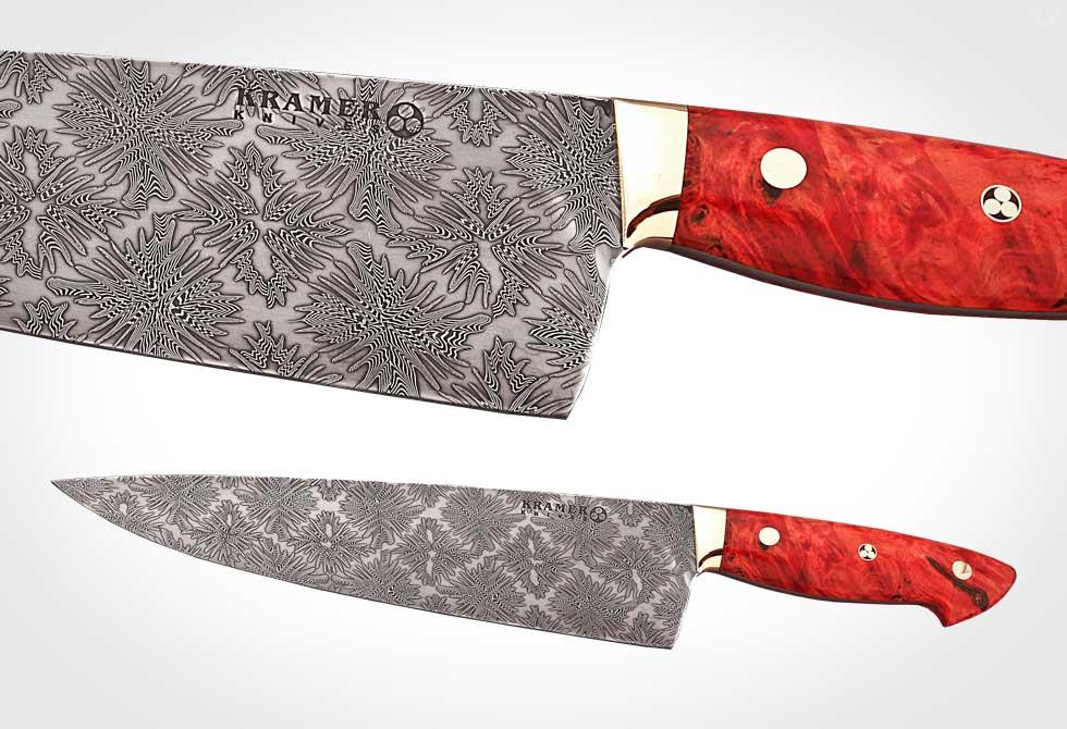 Bob Kramer Damascus Knives