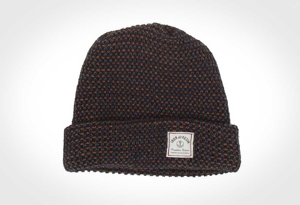 HELMSMAN BEANIE Iron and Resin - LumberJac