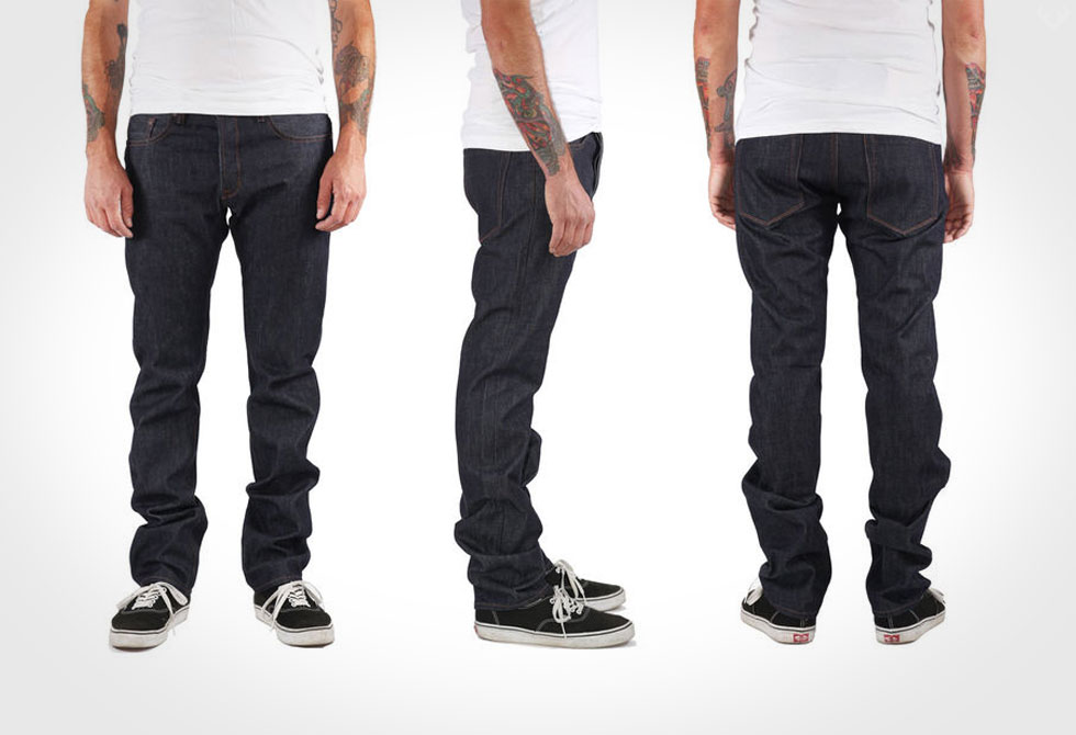 Railcar Fine Goods Spikes Denim - LumberJac