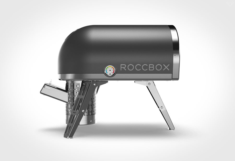 Roccbox Oven - Side view